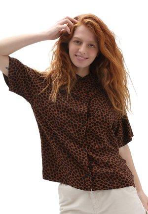 WM WILD WOVEN - Button-down blouse - argan oil