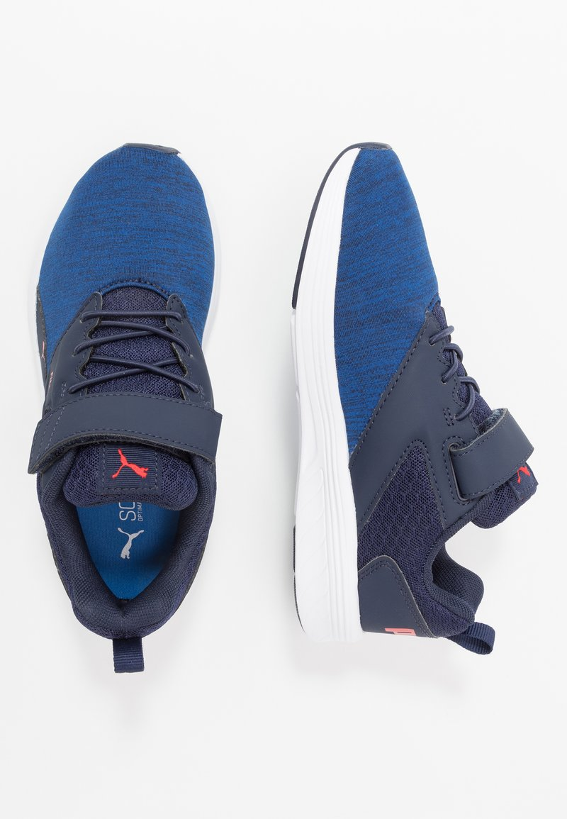 Puma - NRGY COMET  - Zapatillas de running neutras - peacoat/palace blue