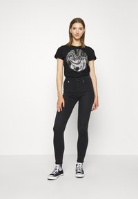 Ivy Copenhagen - ROSIE COOL - Jeans Skinny Fit - black - 1