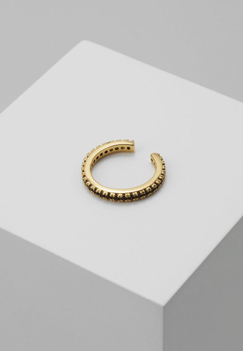 Orelia - JET SINGLE EAR CUFF - Earrings - pale gold-coloured