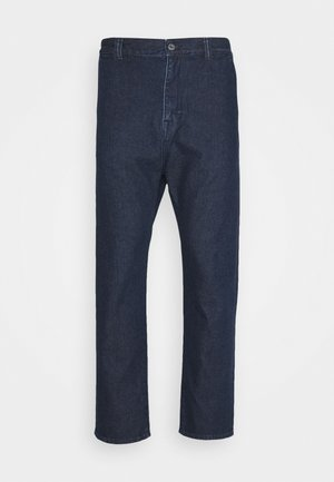 UNIVERSE PANT CROPPED - Džíny Straight Fit - easy stone wash yoshiko