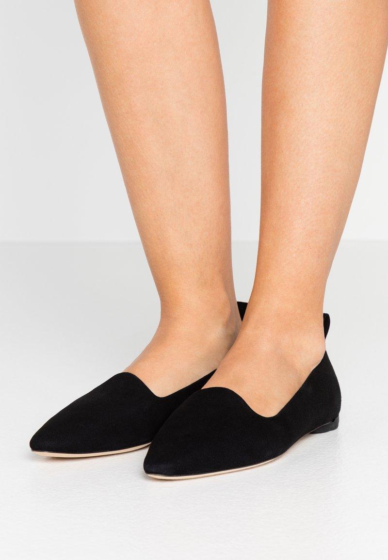 Repetto - NEVE - Nazouvací boty - noir