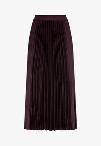 HALLHUBER - Pleated skirt - burgunder - 3