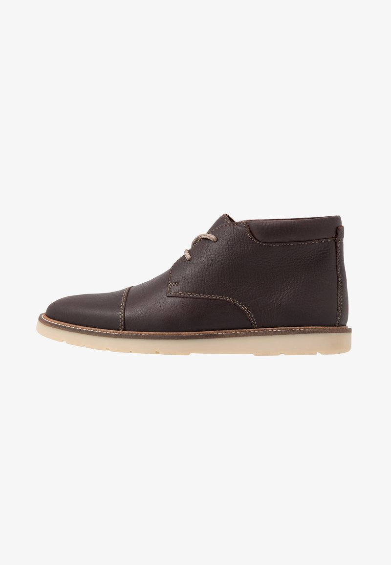 Clarks - Zapatos con cordones - dark brown