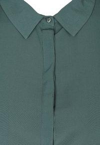 Zizzi - Button-down blouse - dark green - 4