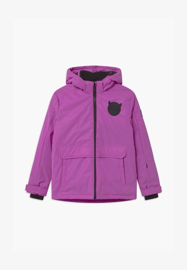 TECHNICAL REFLECTIVE UNISEX - Snowboard jacket - purple