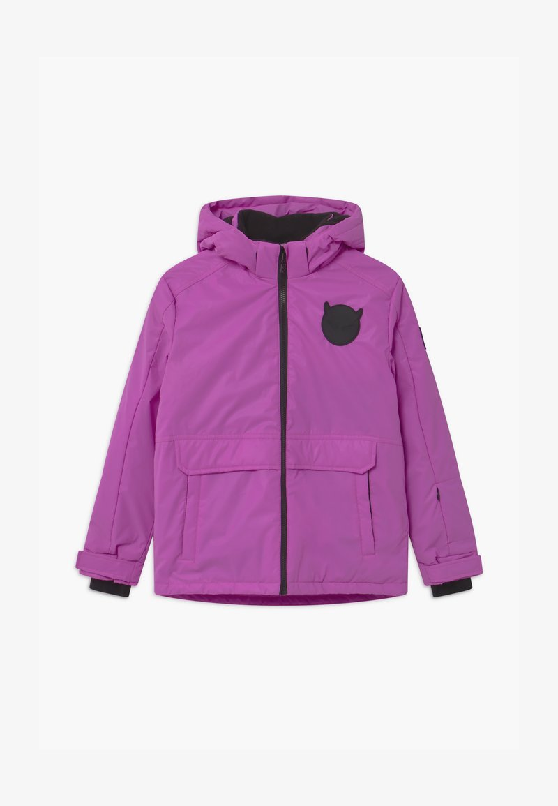 SuperRebel - TECHNICAL REFLECTIVE UNISEX - Snowboard jacket - purple