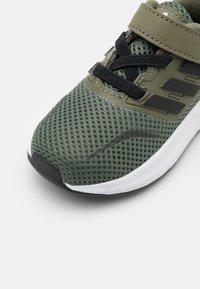 adidas Performance - RUNFALCON I UNISEX - Neutral running shoes - raw khaki/core black/footwear white - 5