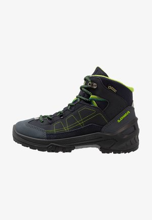 APPROACH GTX MID JUNIOR - Walking boots - navy/limone