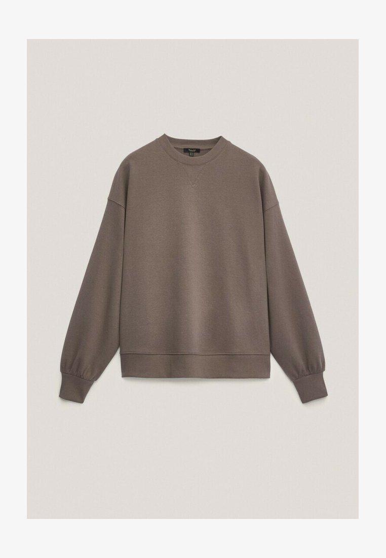Massimo Dutti - Sweatshirt - brown