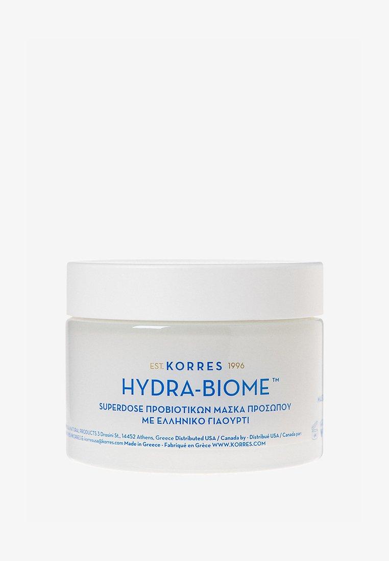 Korres - YOGHURT HYDRA-BIOME FACE MASK - Face mask - -