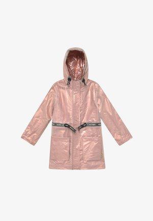 RAIN COAT - Waterproof jacket - pink copper