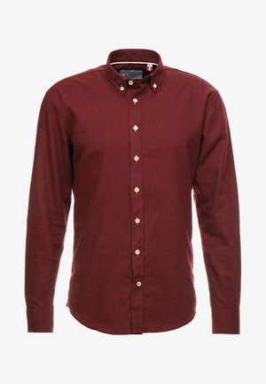 DEAN DIEGO - Shirt - bordeaux