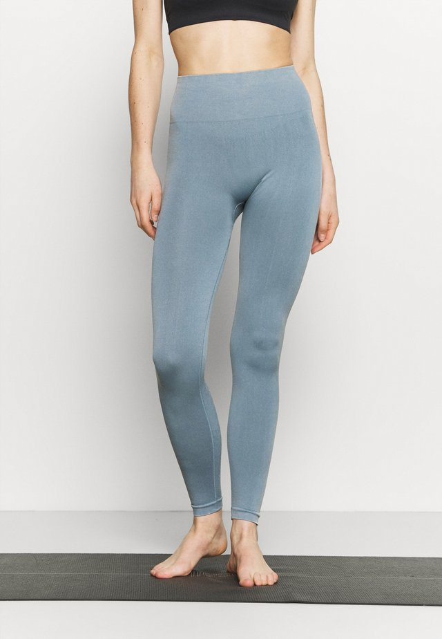 FLEX LEGGING SEAMLESS - Leggings - dark denim