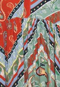 TOM TAILOR DENIM - PRINTED BABYDOLL DRESS - Day dress - multi-coloured - 2