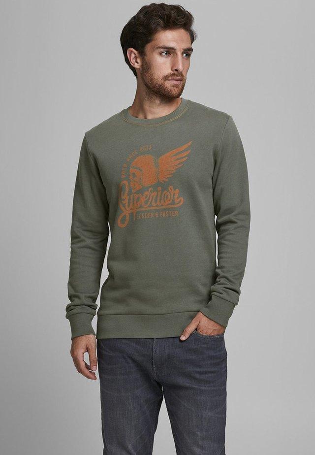 Sweatshirt - gunmetal
