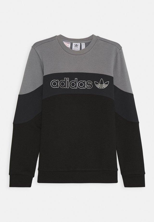 Sweatshirt - grey/black