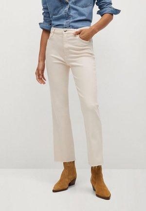 SIENNA - Široké džíny - écru
