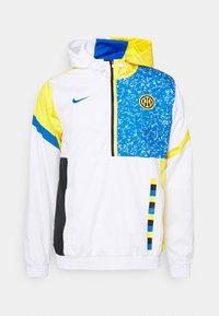 Nike Performance - INTER MAILAND - Club wear - white/tour yellow/black/blue spark - 0