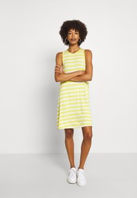 GAP - SWING DRESS - Jerseykjole - yellow - 1