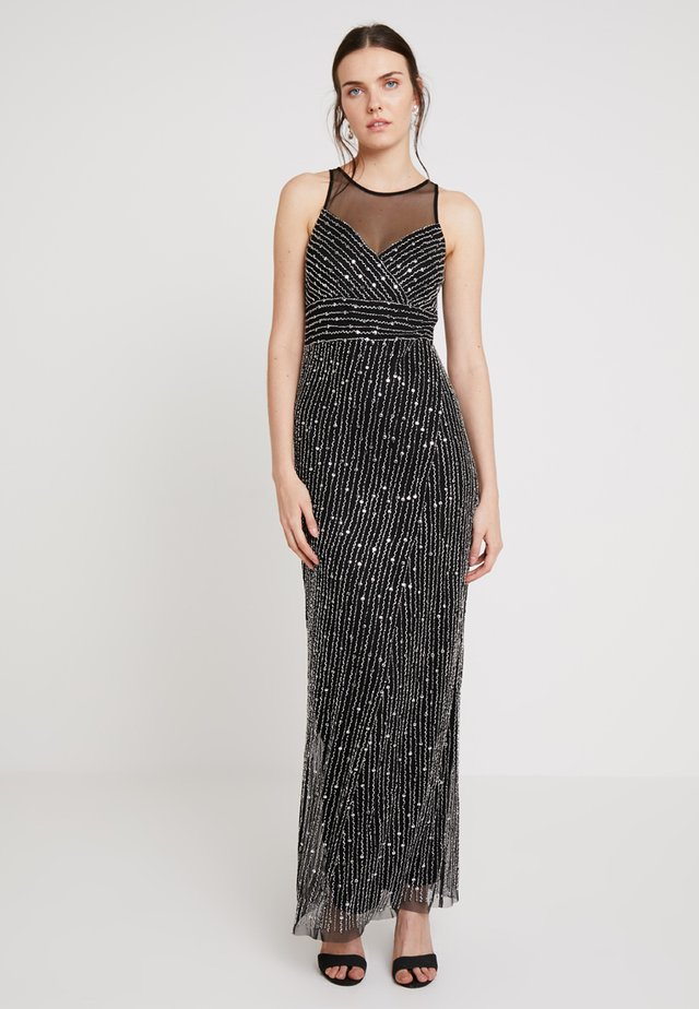 Robe de cocktail - black/silver