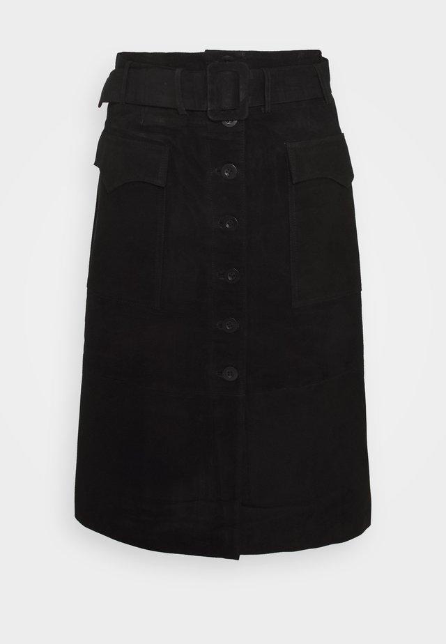 YASSOMA SKIRT - A-snit nederdel/ A-formede nederdele - black
