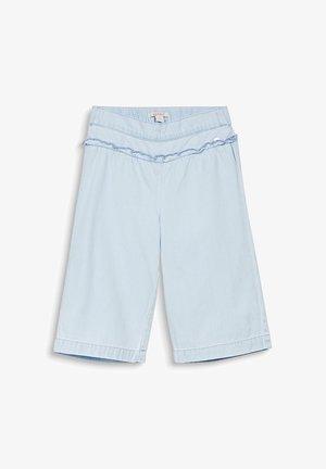DENIM CULOTTE - Short en jean - bleached denim