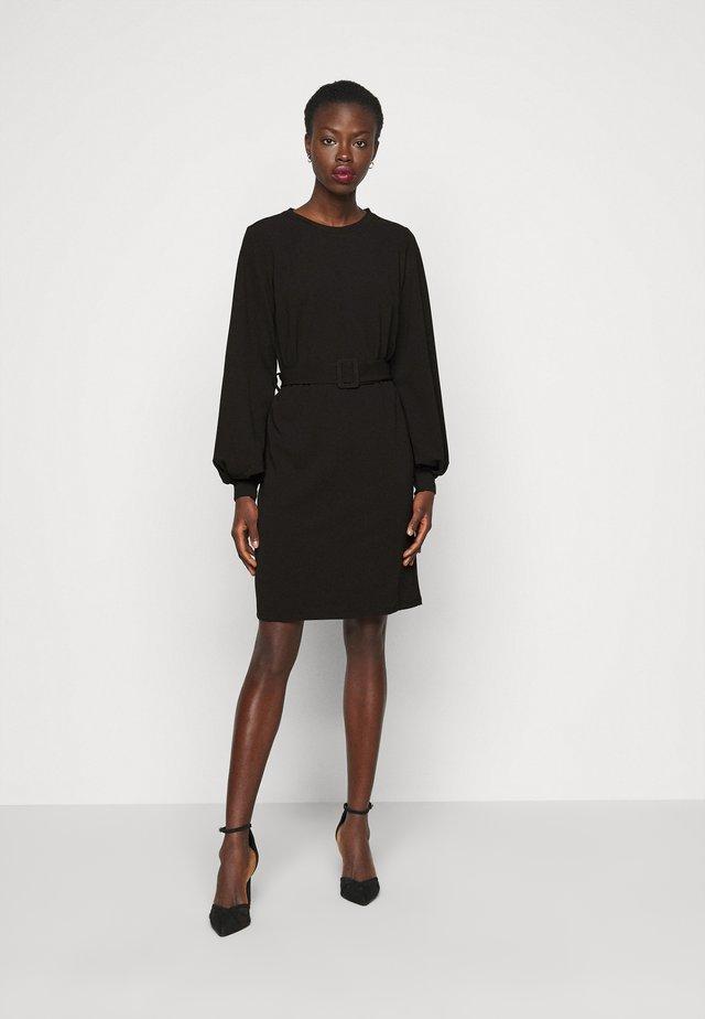 VMCORAL DRESS  - Pouzdrové šaty - black