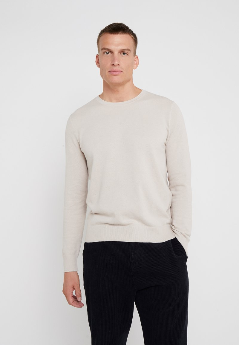 J.CREW - CASH CREW - Jumper - dusty pearl