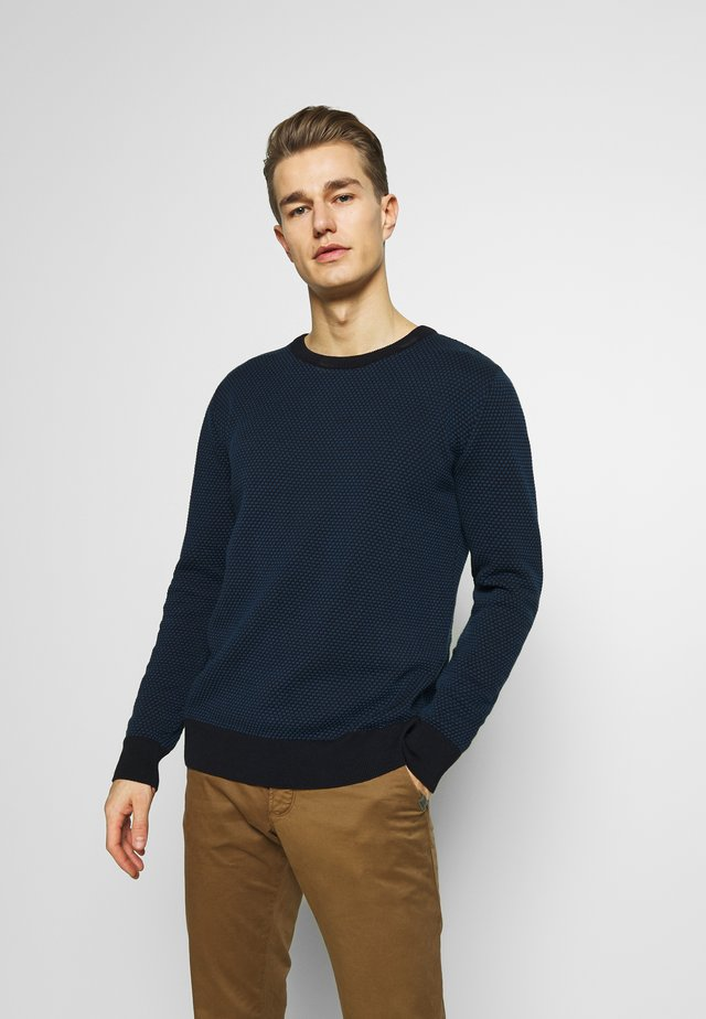 RICE - Strikkegenser - navy/dark blue