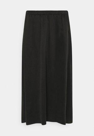 RILBY - A-line skirt - schwarz