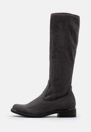 BOOTS - Støvler - dark grey