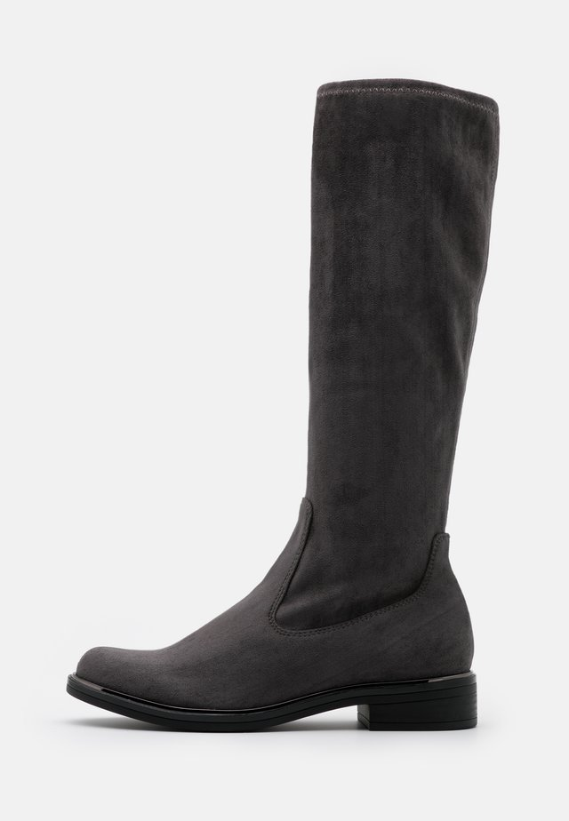 BOOTS - Vysoká obuv - dark grey
