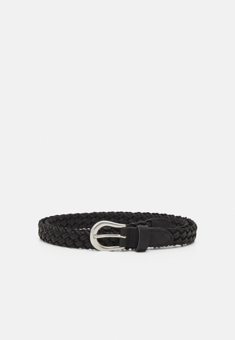ONLY - ONLHANNA CAR BRAIDED - Belt - black