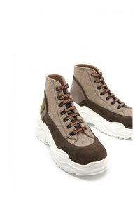 DOMBERS - UNIVERSE - High-top trainers - marrón oscuro - 2