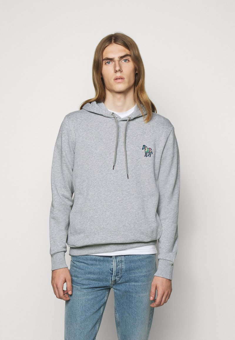 PS Paul Smith - ZEBRA SOPO HOODIE - Hoodie - grey