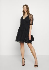 Vila - VIDANNA DRESS - Day dress - black - 1