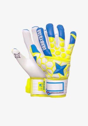 Goalkeeping gloves - blaugelbweiss