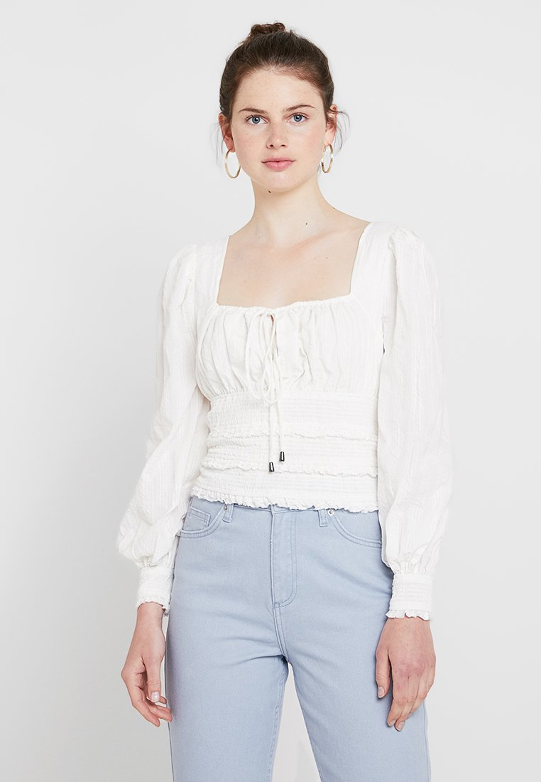 Free People - LOLITA - Blůza - white