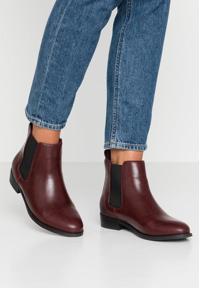 BIABELENE CLASSIC CHELSEA - Ankle boots - burgundy