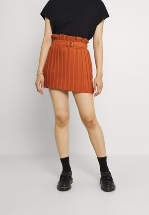 Spódnica plisowana - brown