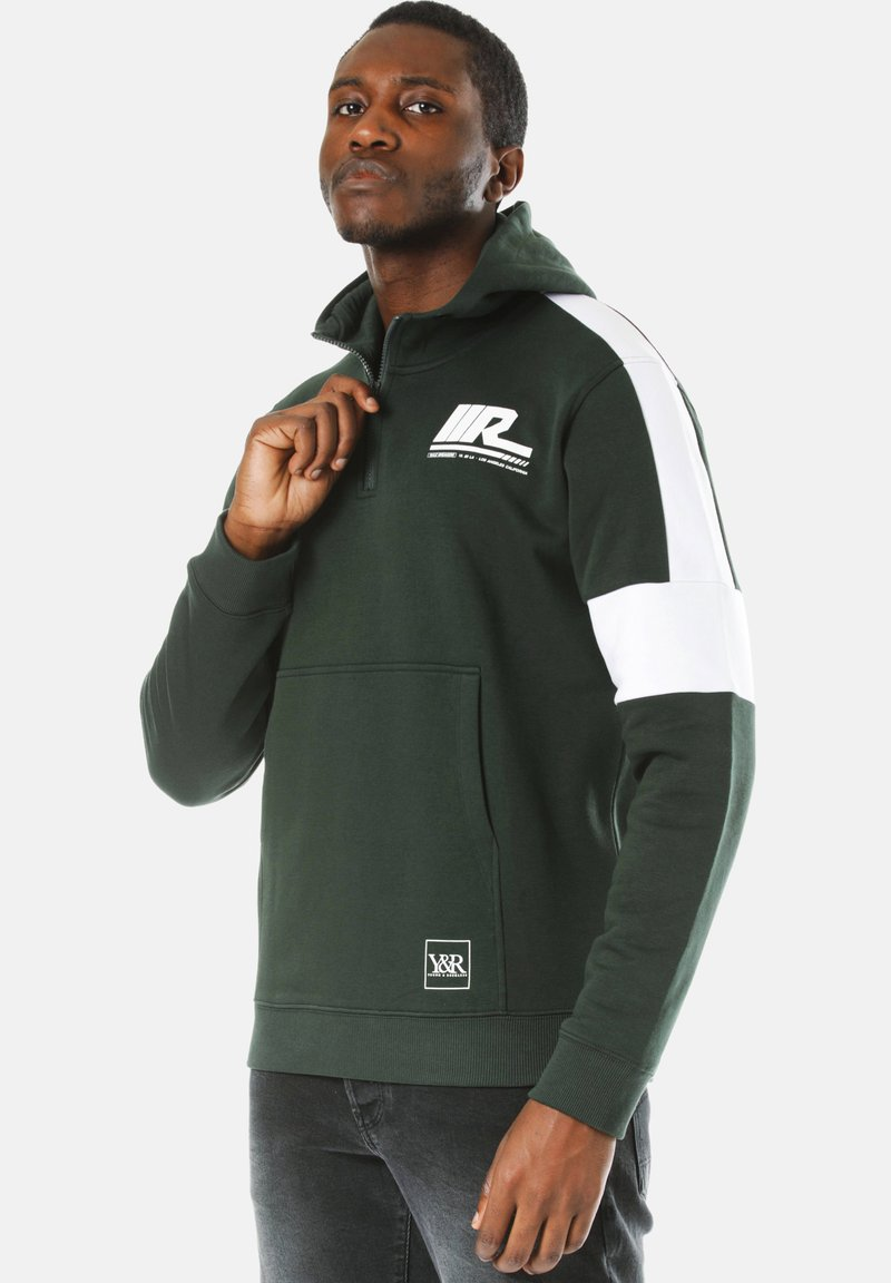 Young and Reckless - Hoodie - green