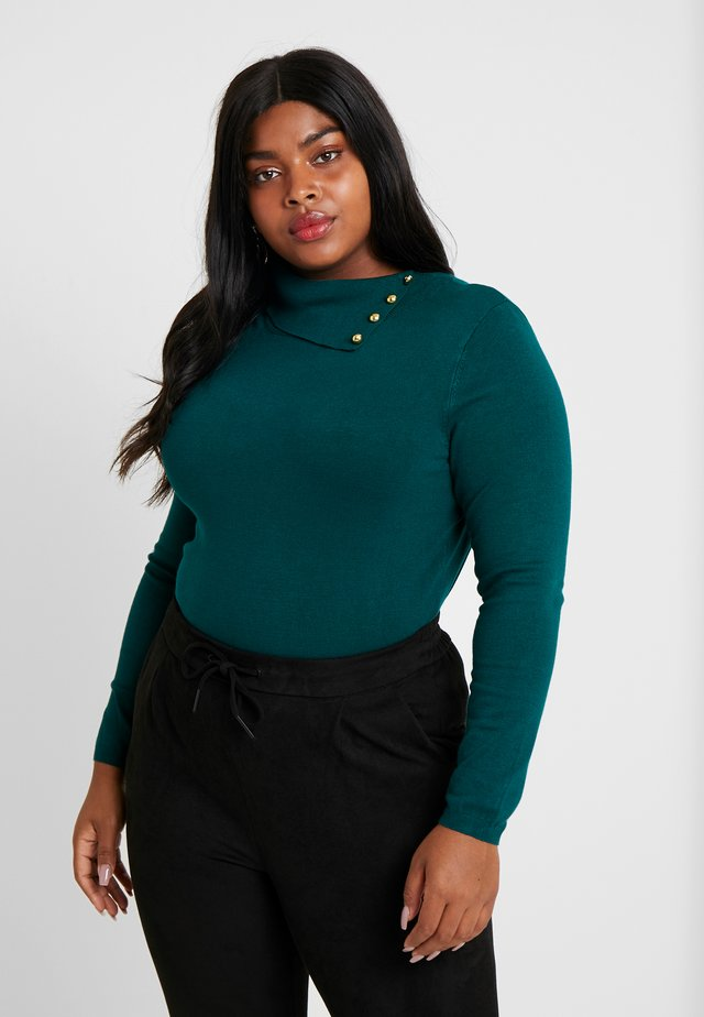 Pullover - dark green