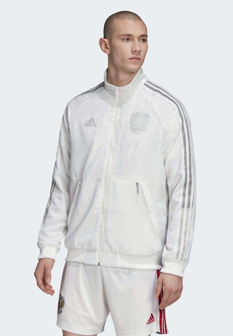 adidas Performance - RUSSIA UNIFORIA RFU - Träningsjacka - white