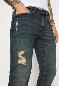 Redefined Rebel - STOCKHOLM DESTROY - Slim fit -farkut - egyptian blue - 4