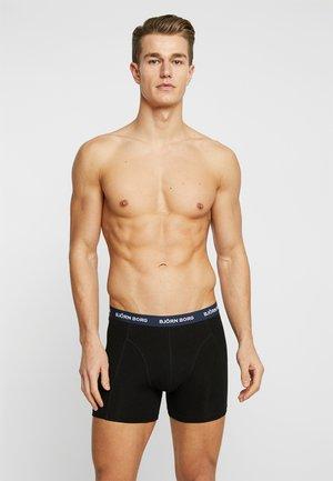 7 PACK  - Panties - black