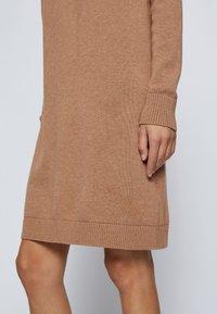 BOSS - C_FABELLETTA - Day dress - light brown - 4