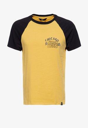 SUPER BEE - T-shirt print - curry