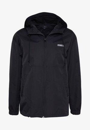 CAPTION JACKET - Summer jacket - black