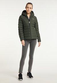 ICEBOUND - Winter jacket - dunkeloliv - 1